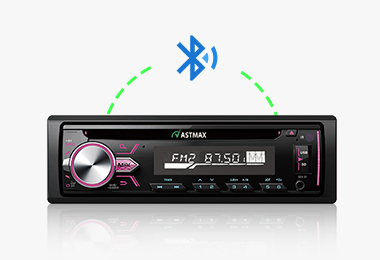 Fixed Panel CD Receiver Built in Bluetooth